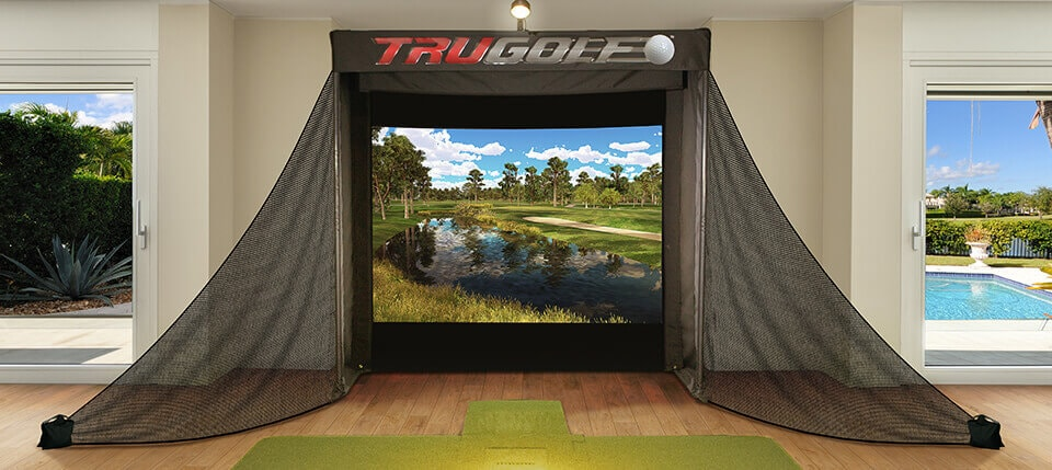 Golf Simulators Indoor Virtual Golf Amp Software Trugolf