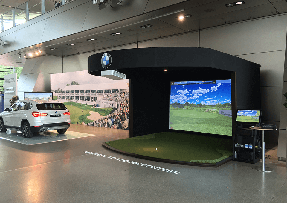 Golf Simulator in Dealership