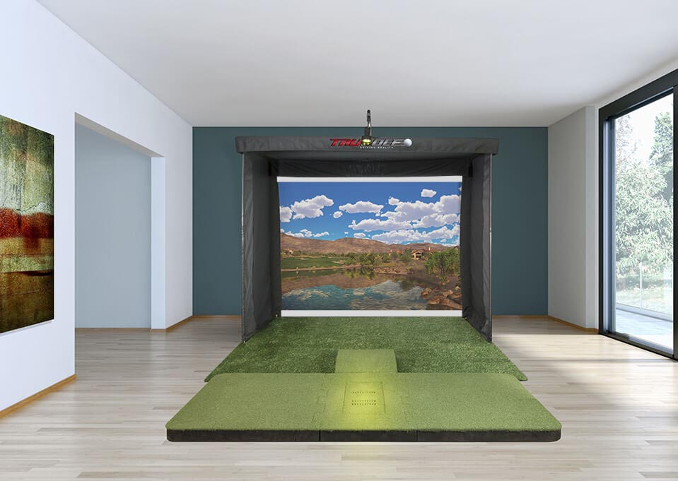 Golf Simulator in Home