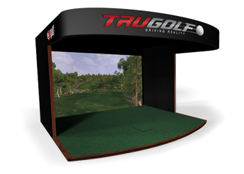 Premium commercial golf simulator