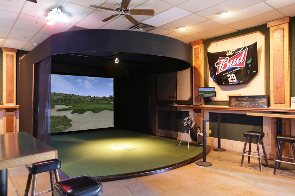 Golf Simulators Traditional Home Theater Calgary
