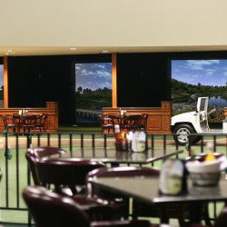 Commercial Golf Simulator Facility