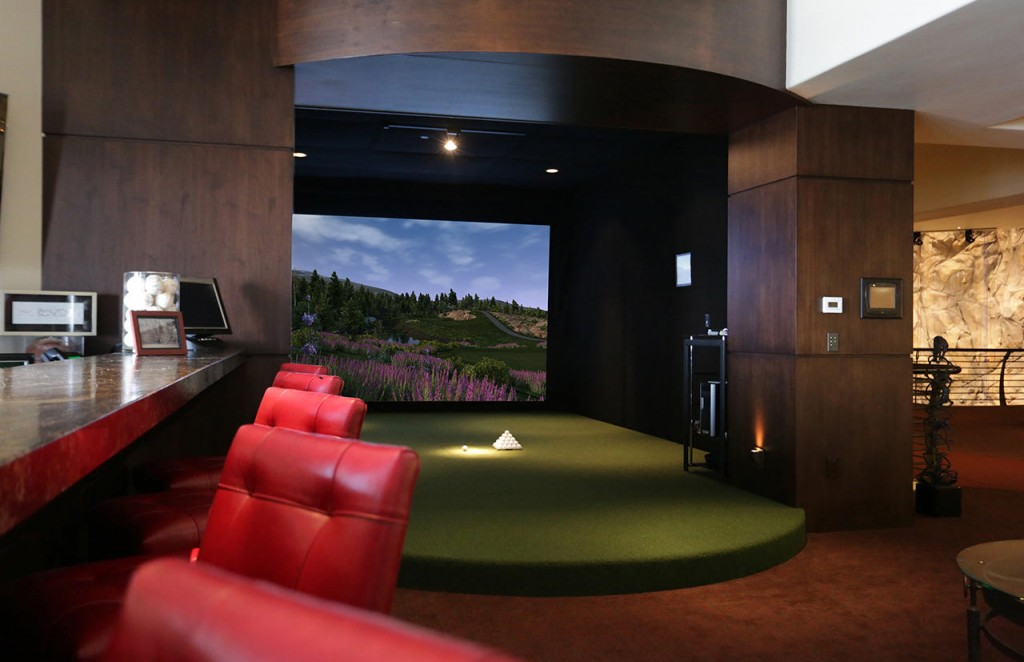Golf simulators indoor virtual golf software trugolf for Interior design room simulator