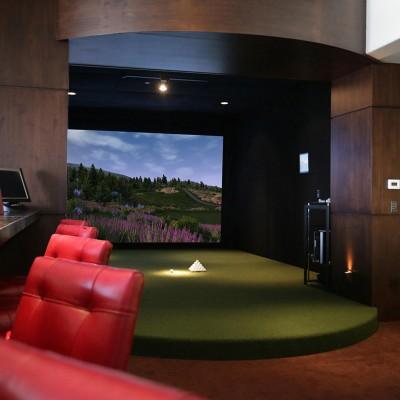 TruGolf Custom Golf Simulator