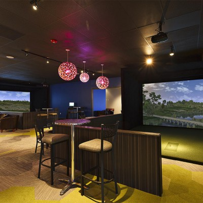 Redegolf Facility Golf Simulators