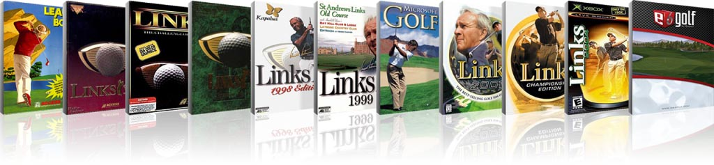 published golf game titles