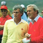Lanny Nielsen and Arnold Palmer