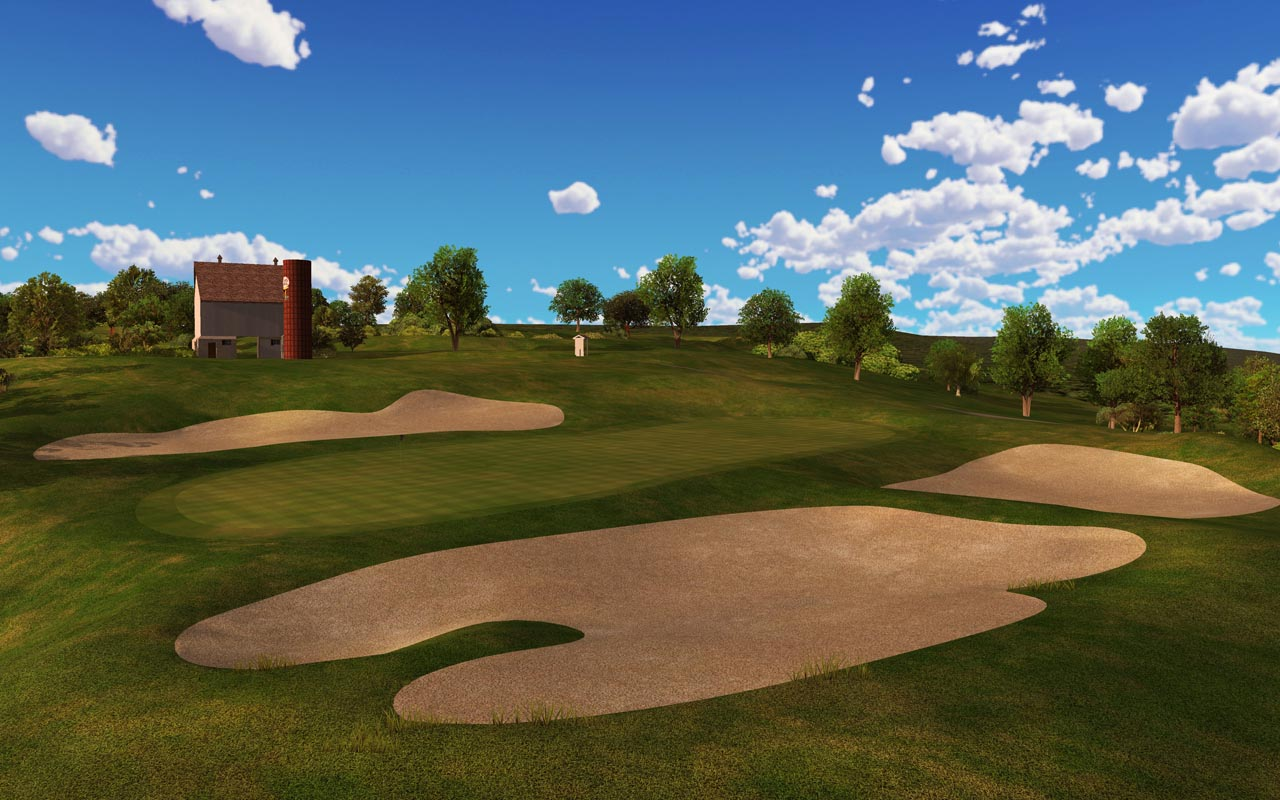 Virtual Golf Course Cog Hill Golf And Country Club