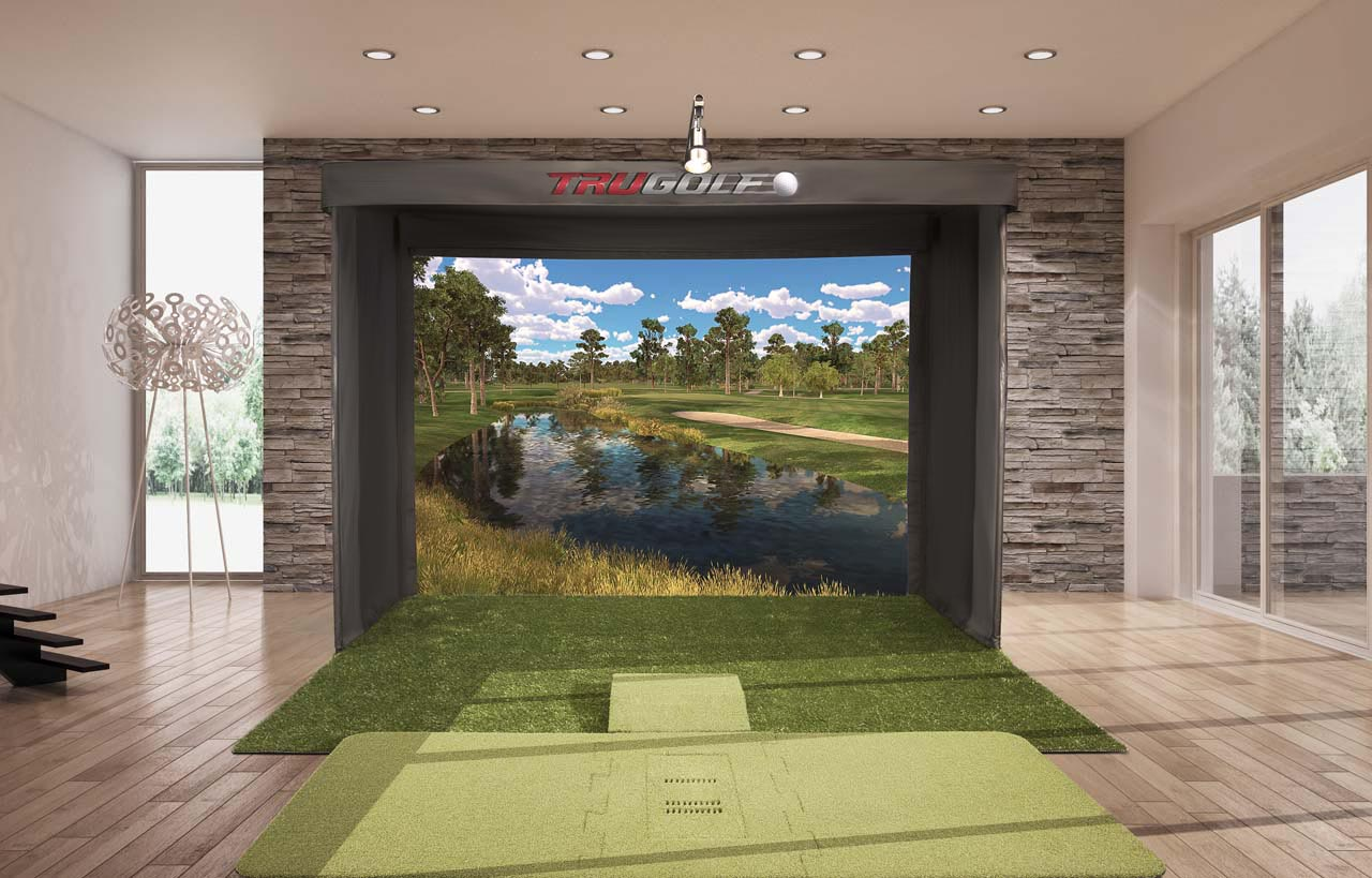 New Line Of Indoor Golf Simulators The Vista Series