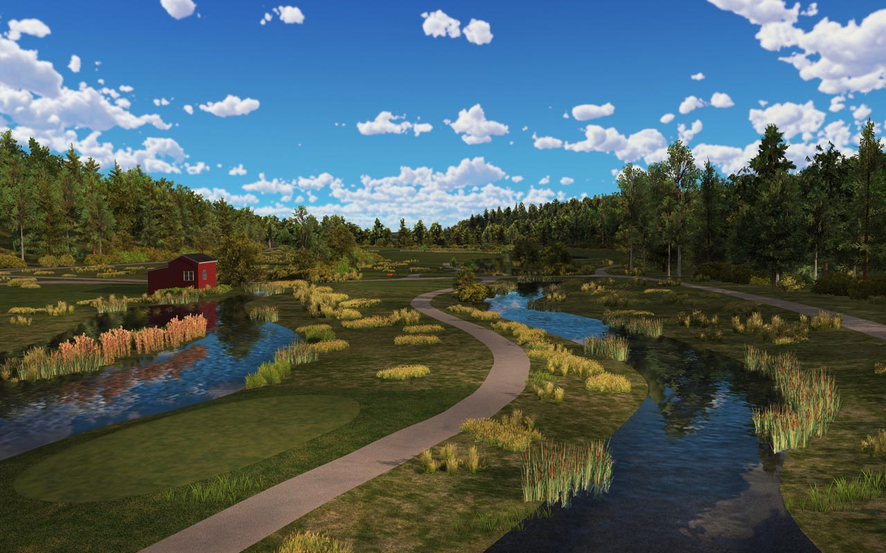 virtual golf course losby golf and country club trugolf. Black Bedroom Furniture Sets. Home Design Ideas