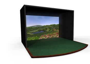 Premium Residential golf simulator