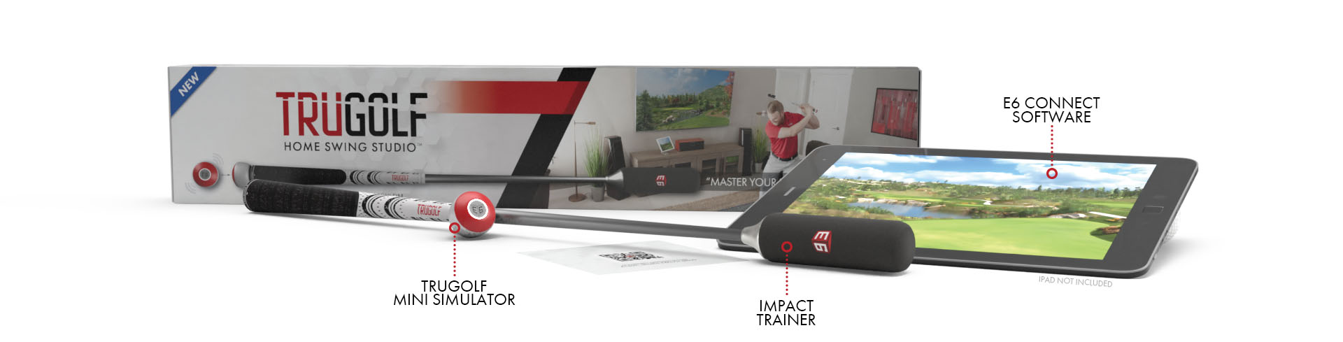 Home Swing Studio - Golf Swing Trainer & Training Aid from TruGolf