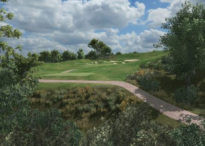 Cog Hill Virtual Course for TruGolf Home & Indoor Golf Simulators