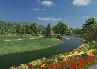 Greenbrier Virtual Course for TruGolf Home & Indoor Golf Simulators