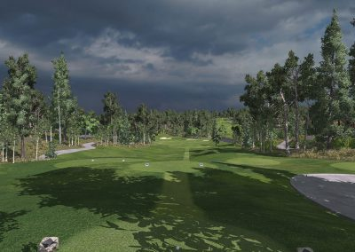 Pine Canyon Virtual Course for TruGolf Home & Indoor Golf Simulators